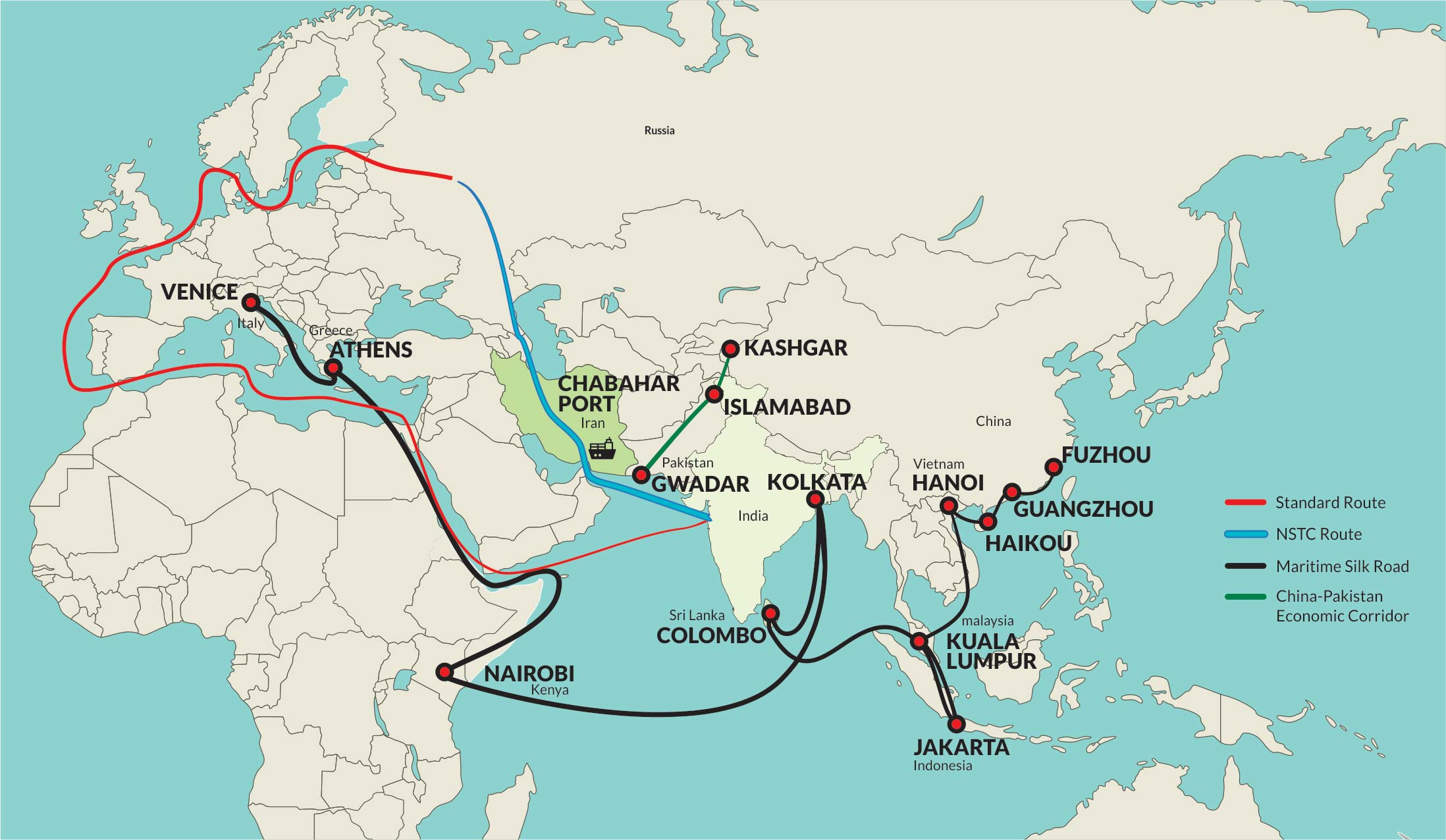 Chabahar Port - India's Gateway to Central Asia