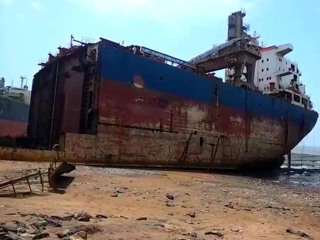 ship breaking yards political legal and Breaking the yard of gujarat, warships from across the globe will soon start coming to alang ship, union minister of state for shipping and port mansukh mandaviya said in gandhinagar on alang yard will be capable of breaking warships soon as it is developed as green ship recycling yard.