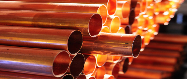Copper rallies, spot prices hit two year high