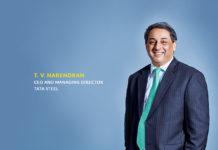 TV Narendran CEO & MD Tata Steel