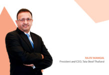 Rajiv Mangal, President and CEO Tata Steel Thailand