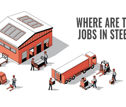 Where are the jobs in steel?