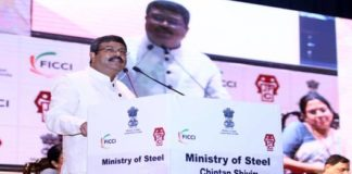 Union Minister for Steel Dharmendra Pradhan addressing the gathering at Chintan Shivir on September 23rd