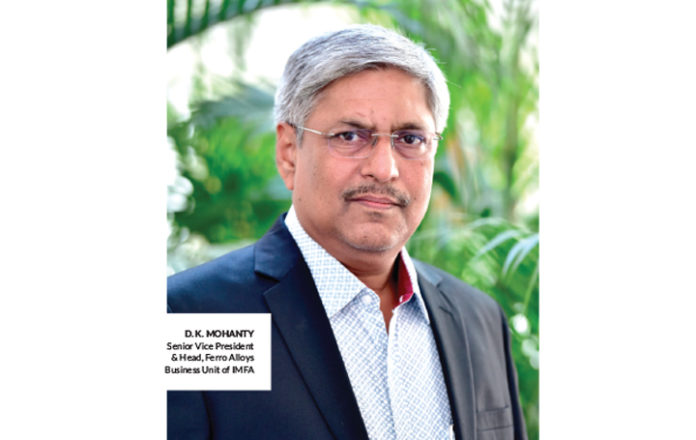 D.K. Mohanty, Senior Vice-President & Head, Ferro Alloys Business Unit of IMFA.