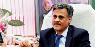 P K Rath, Chairman-cum-Managing Director of Rashtriya Ispat Nigam Limited (RINL)
