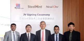 SteelMint Metal One Signing Ceremony